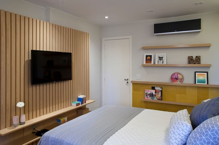 Bedroom by PKB Arquitetura