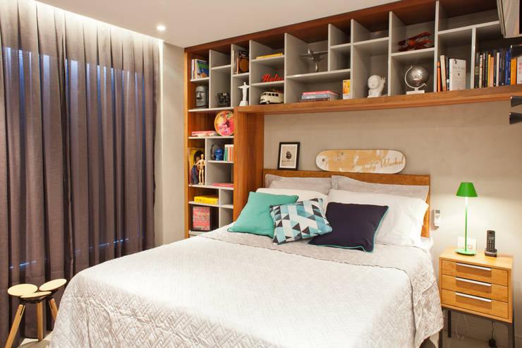 غرفة نوم تنفيذ PKB Arquitetura