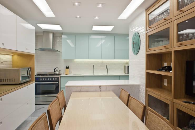 Projekty,  Kuchnia zaprojektowane przez PKB Arquitetura