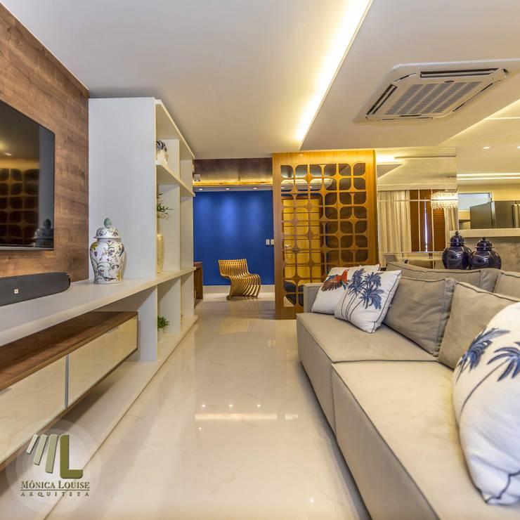 Sala de estar/Home: Sala de estar  por Criare Móveis Planejados