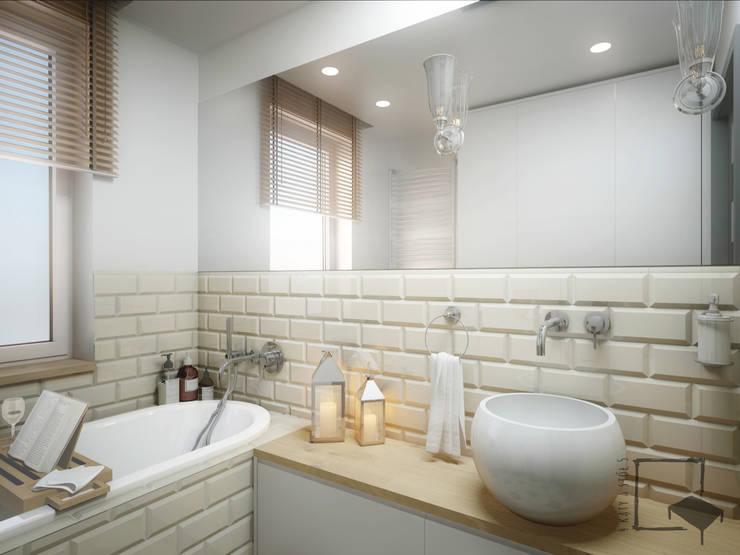 Bathroom by 4 kąty a stół 5 Pracownia Projektowa Ewelina Białobrzewska
