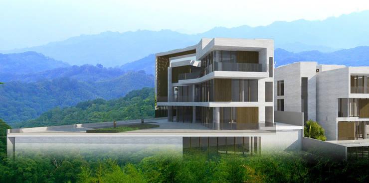 秀岡山莊:  房子 by 行一建築 _ Yuan Architects