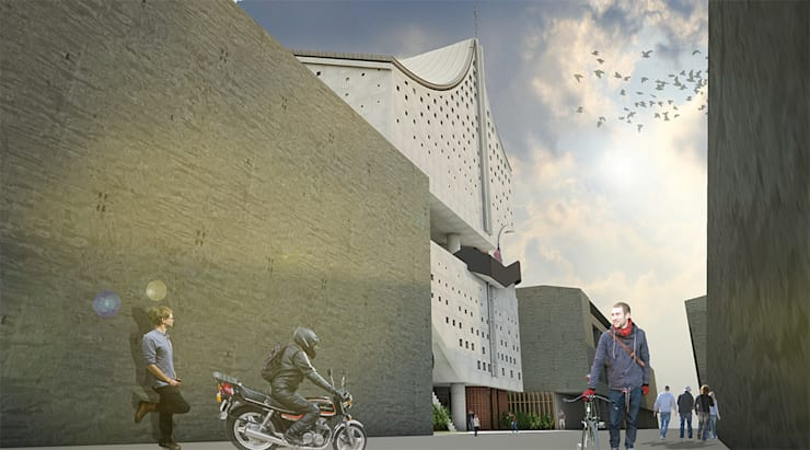 一段找尋真理的旅途_德光教會:  房子 by 行一建築 _ Yuan Architects