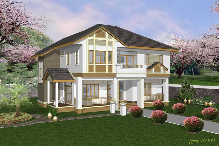 de estilo  por รับเขียนแบบ ออกแบบบ้าน ภาพ3D