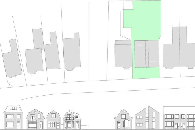 situatie:  Huizen door Studio Blanca, Modern