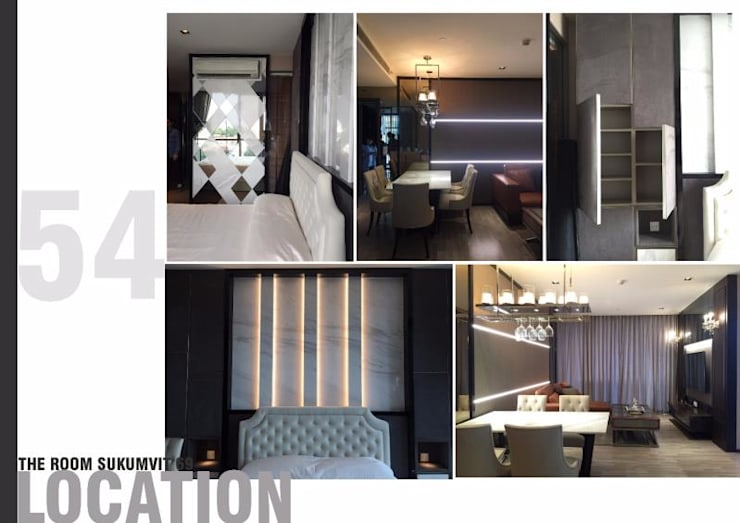 THE ROOM SUKHUMVIT 69 (STYLE LUXURY):   by Future Interior Design Co.,Ltd.