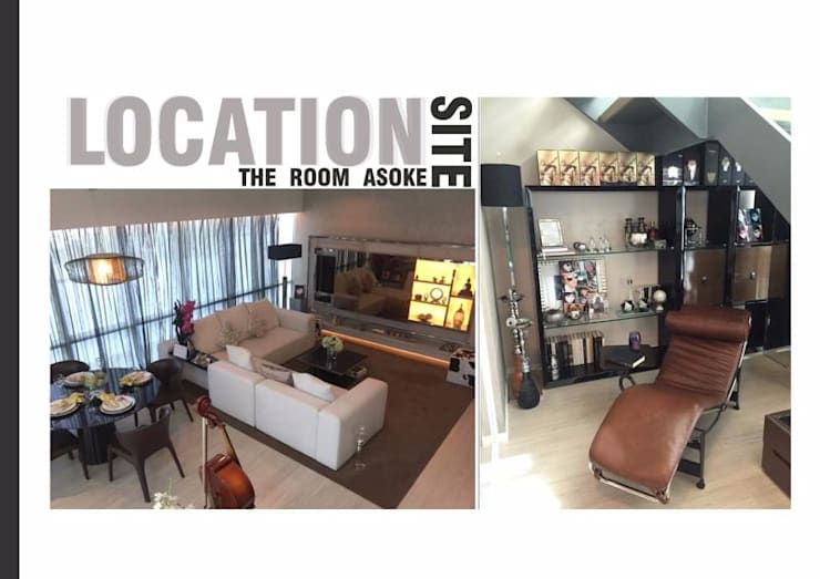 The Room 21 (STYLE LUXURY):  ห้องนั่งเล่น by Future Interior Design Co.,Ltd.