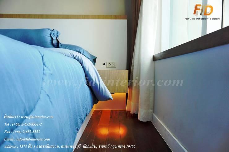 CIRCLE 1 (STYLE CONTEMPORARY & LOFT):  ห้องนอน by Future Interior Design Co.,Ltd.