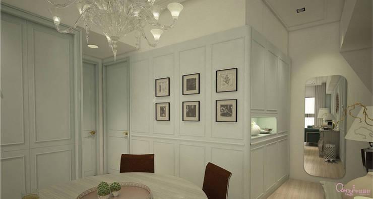 🍀:  走廊 & 玄關 by 宇喆室內裝修設計有限公司