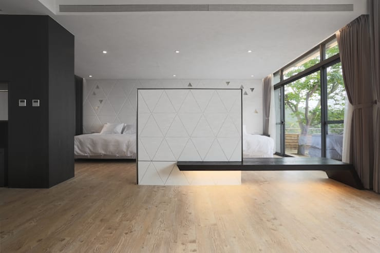 【聽風的歌 九份民宿設計案】:  商業空間 by 衍相室內裝修設計有限公司