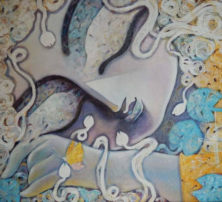 Tathagatha:  Artwork by Indian Art Ideas