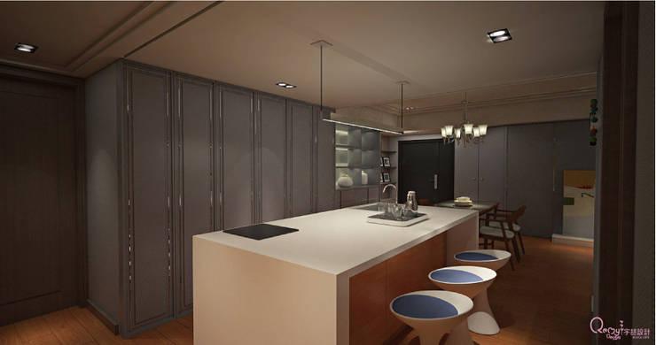 🍀:  廚房 by 宇喆室內裝修設計有限公司