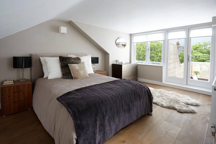 غرفة نوم تنفيذ Gr8 Interiors