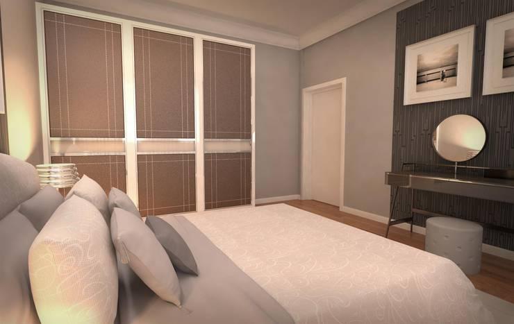 غرفة نوم تنفيذ GEKADESIGN