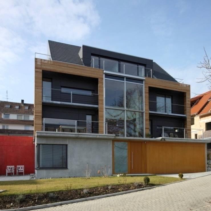 NORDSEITE:  Häuser von ARCHITEKTEN GECKELER