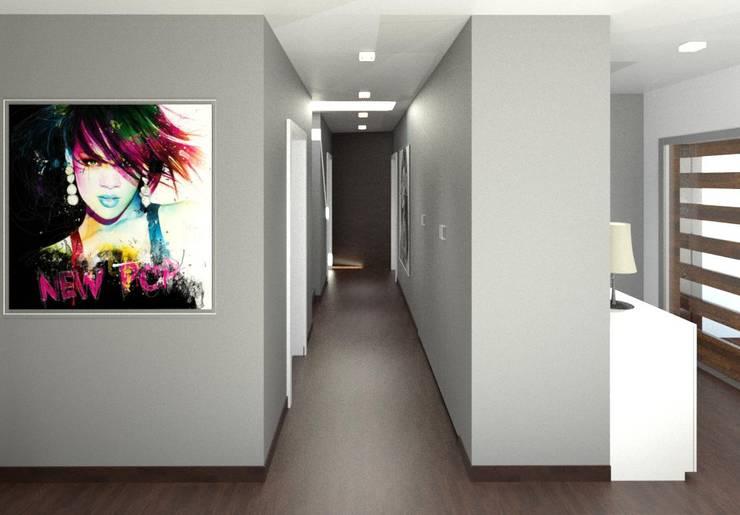 走廊 & 玄關 by André Terleira - Arquitectura e Construção