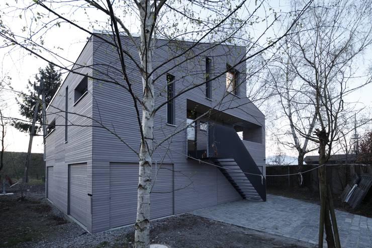 Houses by ARCHITEKTEN GECKELER, Modern Wood Wood effect