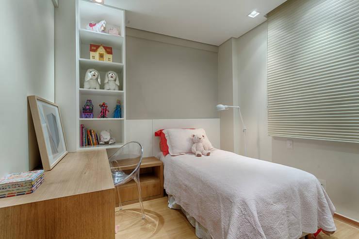 غرفة الاطفال تنفيذ Renata Basques Arquitetura e Design de Interiores