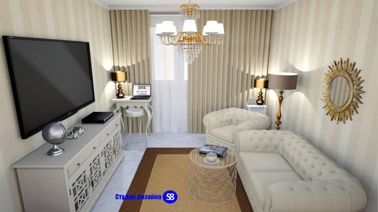 Living room:  Living room by 'Design studio S-8'