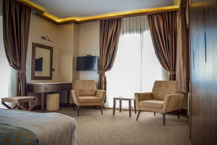 MY Ahşap ve Dekorasyon – Sera Lake Resort:  tarz Yatak Odası