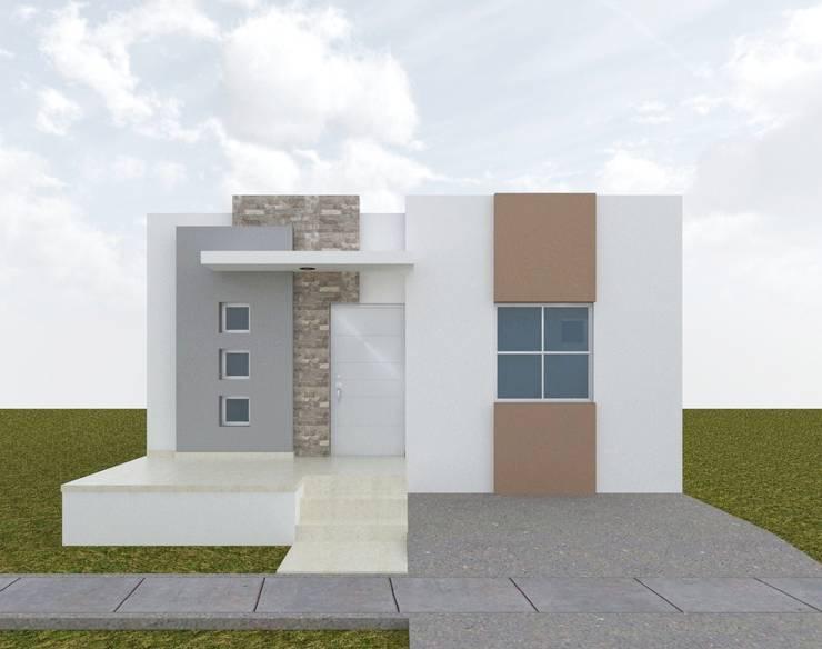 URBANIZACION LAS CANARIAS - CONSTRUCCIÓN DE 15 VIVIENDAS UNIFAMILIARES:  de estilo  por CONSTRUCTORA JOMEVE S.A.S