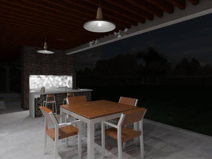 Galeria: Jardines de estilo  por Gastón Blanco Arquitecto,