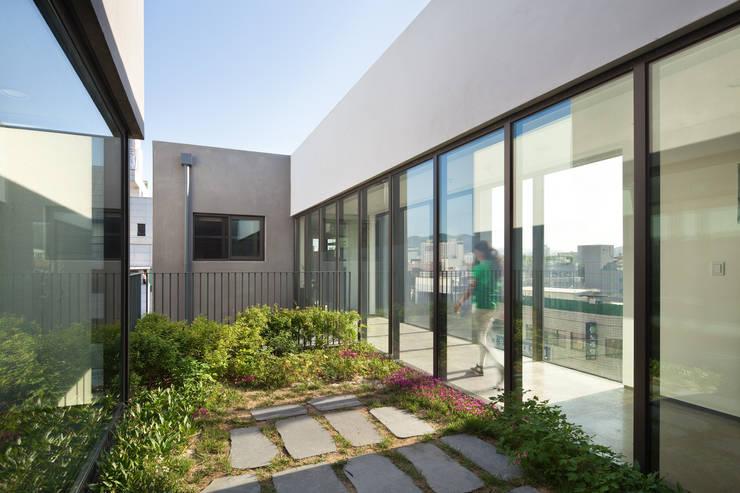 테라리움_안양 관양동 근린생활시설 : (주)건축사사무소 모도건축의