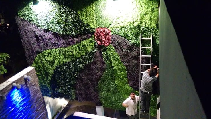 Jardines de estilo  por 3HOUS