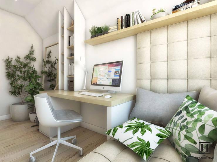 Phòng học/Văn phòng by Huk Architekci
