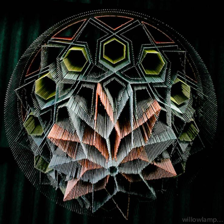 Mandala No.1:  Artwork by willowlamp