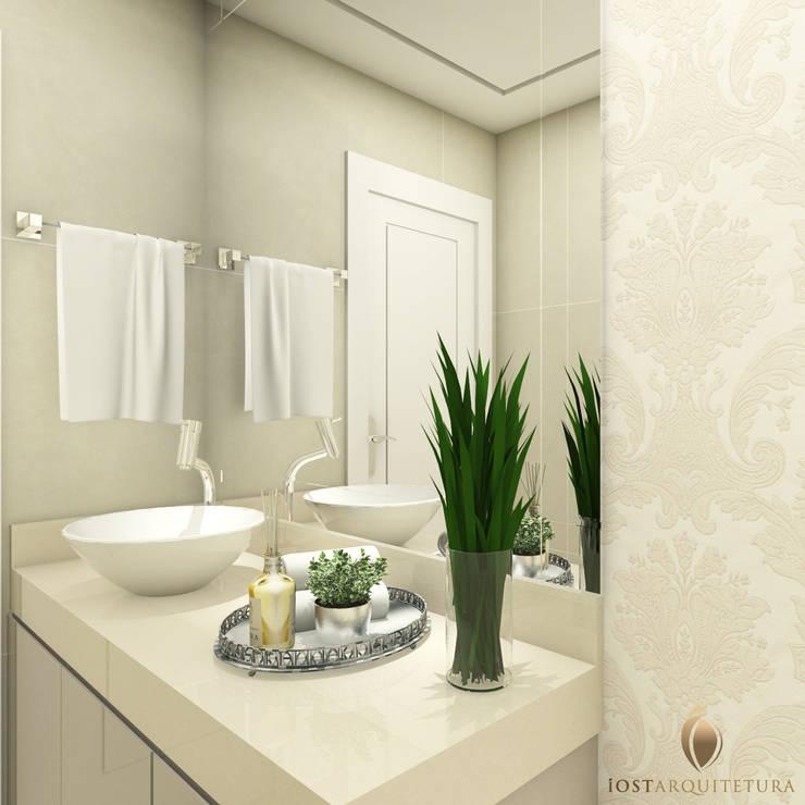 15 ideas fabulosas para decorar la zona del lavabo de tu ba o for Pared de bano de concreto encerado