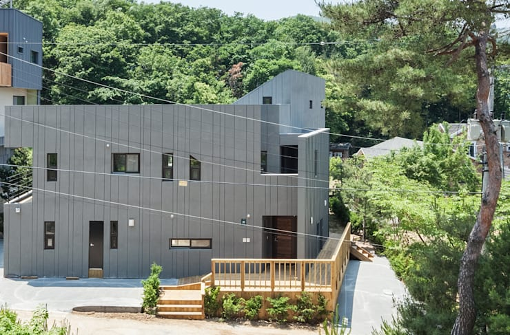 S.L.Y 용인 주택: 건축사사무소 어코드 URCODE ARCHITECTURE의  주택,모던