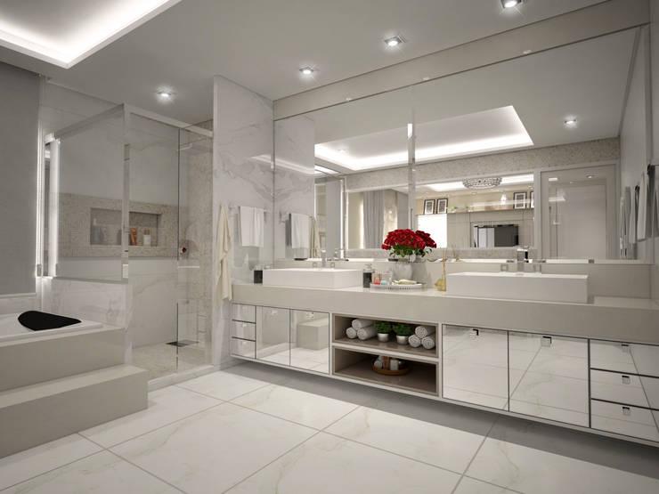 Bathroom by Vinicius Miguel Arquitetura