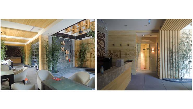 改造前大樓一、二樓且三戶打通的金店面:   by wanchan interior / 萬仟工程有限公司