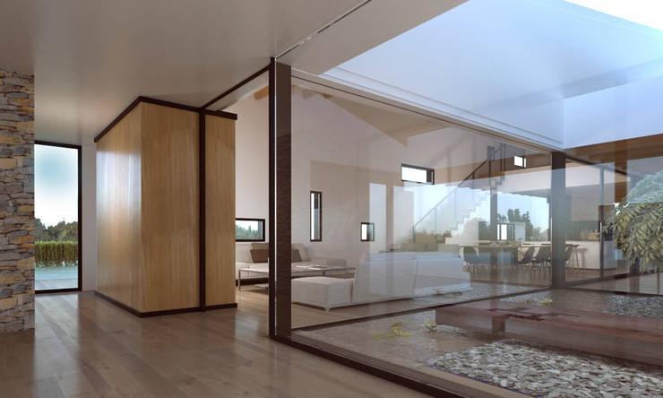 Pasillos y recibidores de estilo  por GokoStudio
