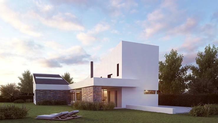 Jardines de estilo moderno por GokoStudio