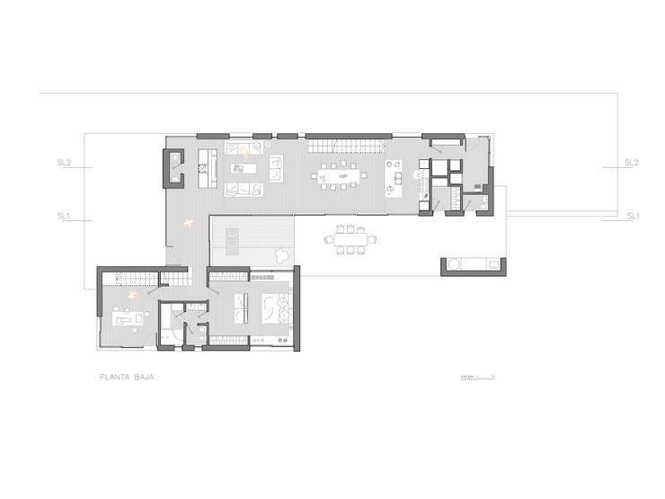 Livings de estilo moderno por GokoStudio