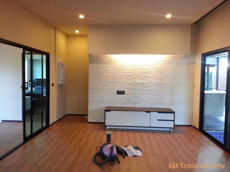 ผลงานสร้างเสร็จ Project 5:   by K&K Knockdownhome