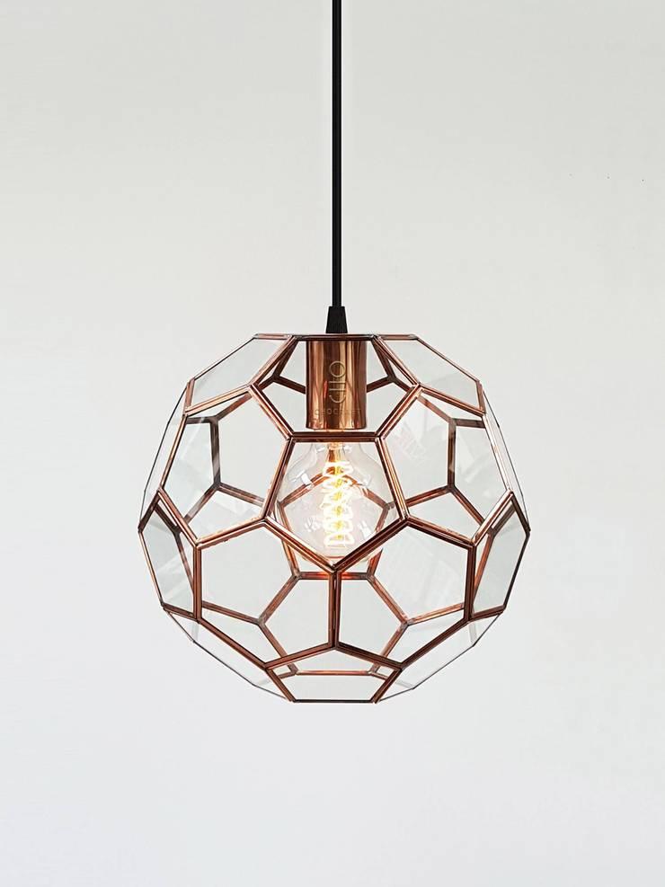 โคมไฟแขวนทรงบอล:   by chocraft