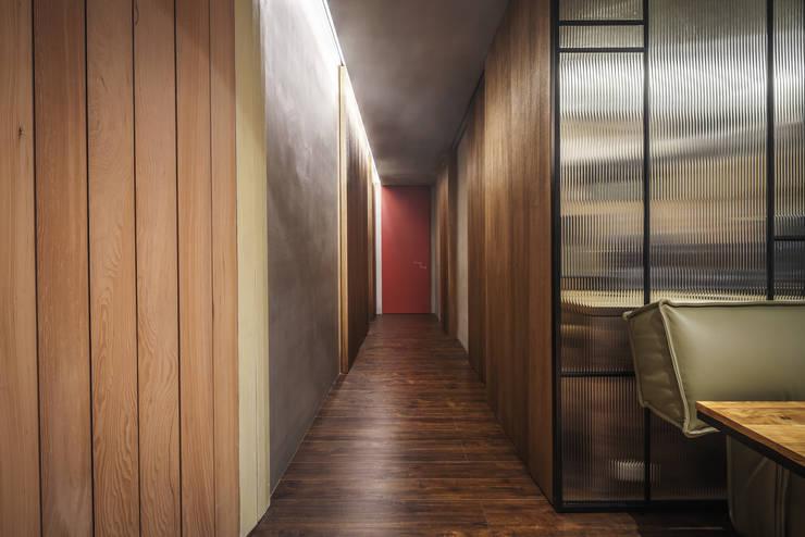 06:  走廊 & 玄關 by 樂沐室內設計有限公司