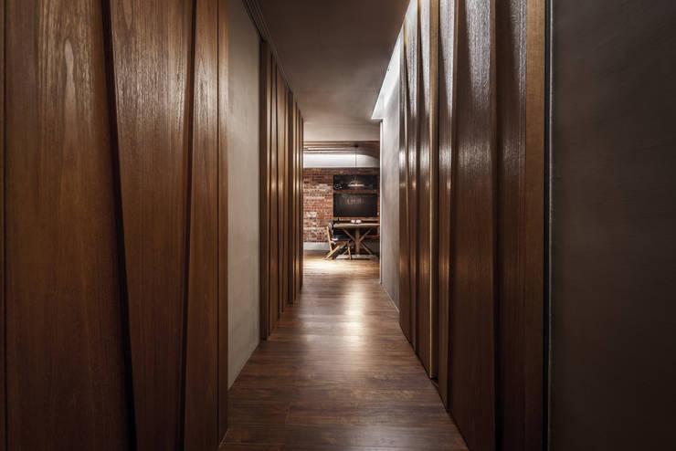05:  走廊 & 玄關 by 樂沐室內設計有限公司