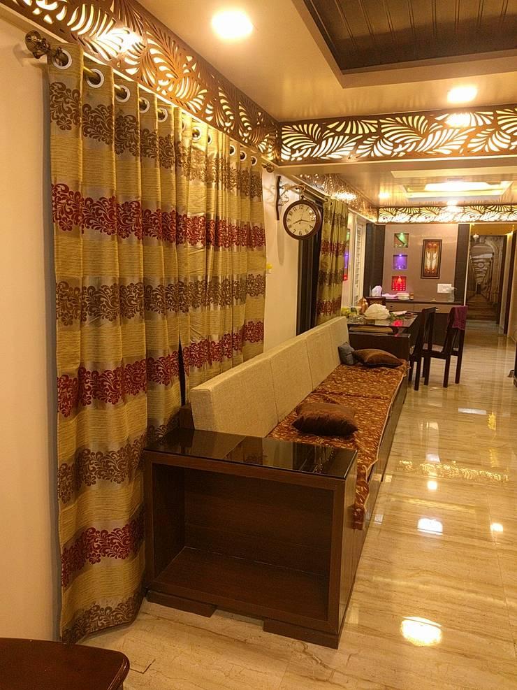 Interior:  Corridor & hallway by Dusnaam designs