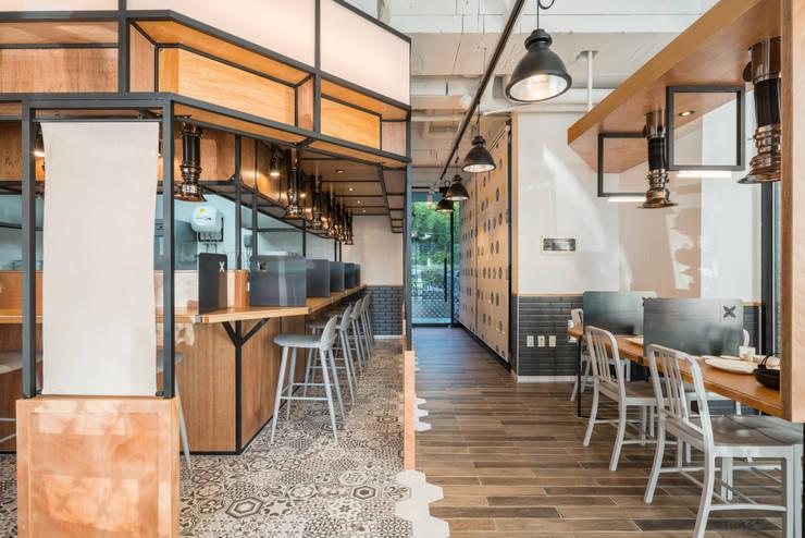 G:BRO 지브로 : atelierBASEMENT의  레스토랑,