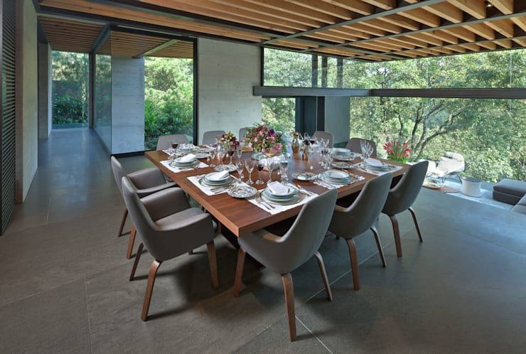 modern Dining room by grupoarquitectura