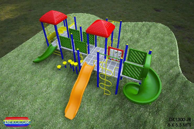 Presentacion 3D de proyectos municipales para empresa DEKOLOR, :  de estilo  por RENDER STUDIO