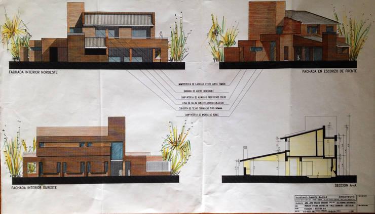 Casa CG: Casas de estilo  por Development Architectural group