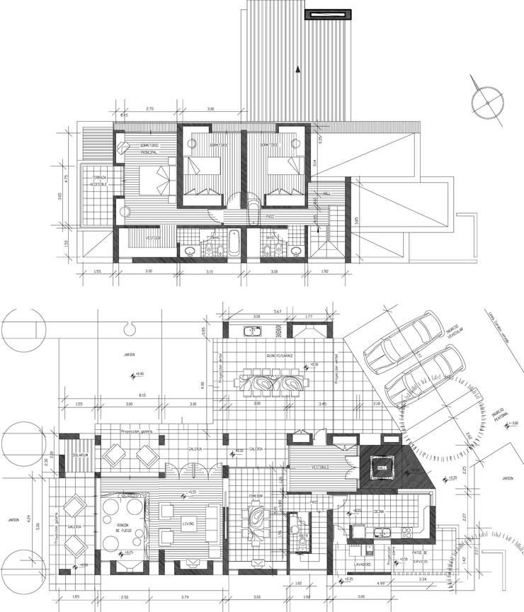 Casa CG:  de estilo  por Development Architectural group