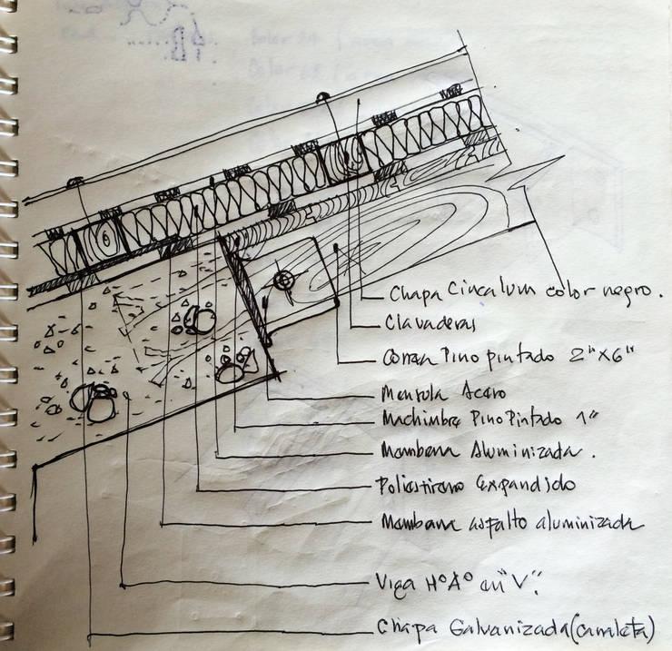 Casas de fin de semana:  de estilo  por Development Architectural group