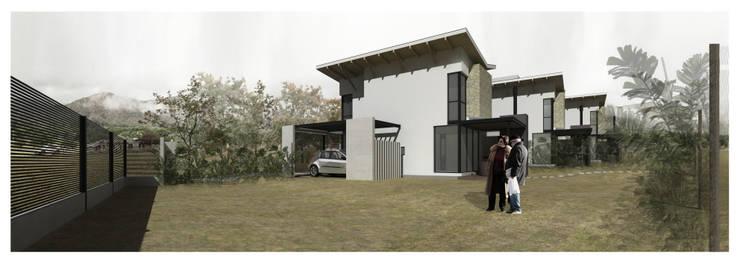Casas de fin de semana: Jardines de estilo  por Development Architectural group