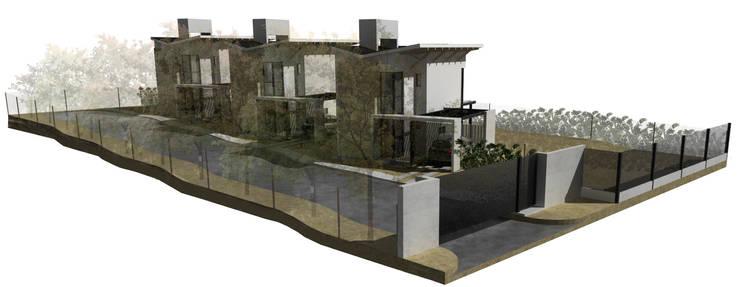 Casas de fin de semana: Casas de estilo  por Development Architectural group